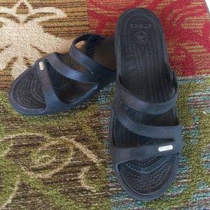 Crocs Slip On Sandal Wedge